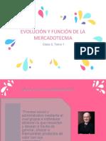 Tema1 Evolucion y Funcion de La Mercadotecnia