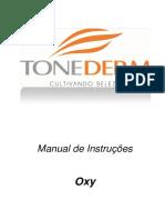 MANUAL EQUIPAMENTO NEW OXY SEM VÁCUO R09