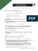 Ficha de Trabalho 07 - 11 Ano - Progressoes Aritmeticas e Geometricas