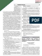 Decreto Supremo Que Aprueba El Reglamento Para El Registro s Decreto Supremo n 002 2021 Sa 1918580 1