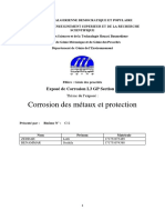 projet corrosion