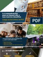 Segundo Armas Castañeda. La comunicación para el desarrollo y sus nuevos desafíosdesafíos