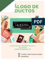 Catálogo de Alimentos La Huerta