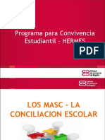 Los Masc – La Conciliacion Escolar