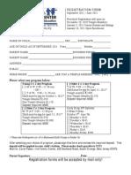 2's Registration Form