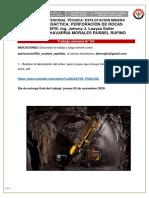 trabajo semana 04 perforación de rocas 2020-II _ CHAVARRIA MORALES RUSBEL RUFINO