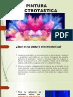 PINTURA ELECTROTASTICA