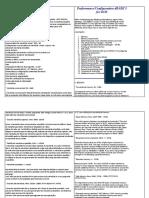 Desempenho configuração DBASE V comparando com DBASE IV