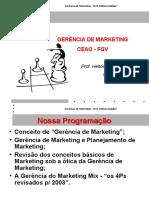 Gerência de Marketing 1