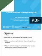 Clase 10-Intervencionismo guiado por ecografía-Dra. Karina Pesce (1)