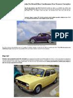 Carros Que Saíram De Linha No Brasil Mas Continuam Nos Nossos Corações