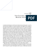 Dawe_Cultural Study of Musical Instruments