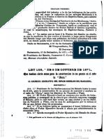 LEY 154-1871-ESTAD MAG-SIERRA NEVA