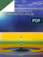 Ziua protectiei apelor