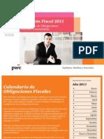 Calendario de Obligaciones Fiscales 2011   PwC Venezuela