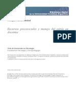 Recursos psicosociales y manejo del estrés en docentes.pdf