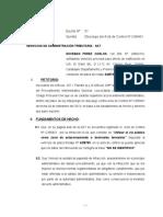 Escrito Nº 1DESCARGO DE ACTA Nº C395451 N-4