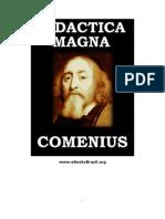 Comenius - Didactica Magna