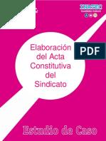 Act3.1 UD5  Elaboración de Acta Constitutiva del Sindicato