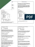 ASCII importação exportação