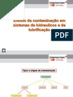 Efeitos da contaminação em sistemas de lubrificação