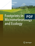 Footprints in Micrometeorology and Ecology ( PDFDrive )