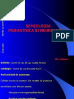 curs11 Cefalee; Psihiatrica si Neurologica