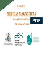 Unidad de Medidas Magnéticas- seminario
