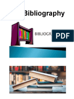 the bibliography