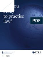 ITLP_Brochure - Practising law in Canada