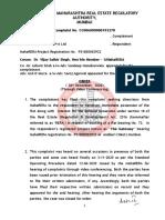 Sushant Karkera Order