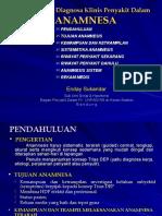 5. Pendekatan Diagnosa Klinik Penyakit Dalam