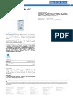 Schiuma Detergente NSF TDS