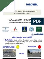 Señalización horizontal (AETEC)