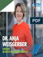 Dr. Anja Weisgerber - Unsere Bundestagsabgeordnete