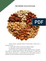 Materii prime oleaginoase de origine vegetală
