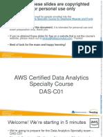 AWSCertifiedBigDataSlides