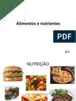Alimentos e nutrientes 2 AAA