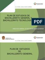 Plan de Estudios de Bg y Cbt