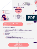 Meeting and Report Mind Map by Slidesgo