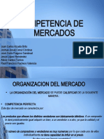 COMPETENCIA DE     MERCADOS