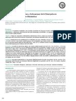 Marcadores Inflamatorios y Anticuerpos Anti-Chlamydia en Pacientes con Síndrome Metabólico