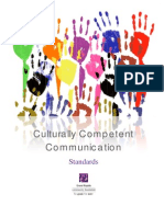 Culturally Competent Communication - Standards