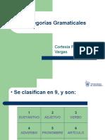 1 Categorías Gramaticales Profesor