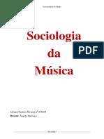 Sociologia da Música