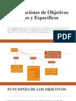 Formulación de Objetivos Generales y Específicos