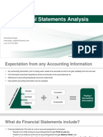 Financial Analysis - IMI
