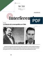 Interferencia.cl (2019) La Historia de La Narcopolítica en Chile