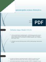 Bronhopneumopatie Cronica Obstructiva