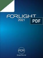 202101 Forlight Tarifa de Precios 2021